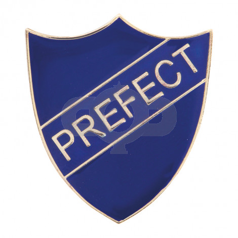 Prefect Enamel Shield Badge