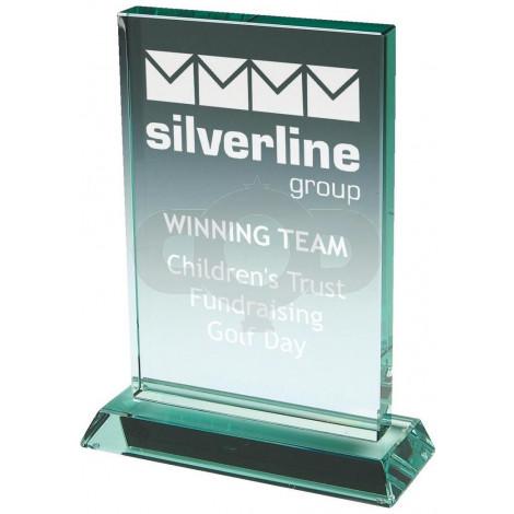 Jade Glass Block Award