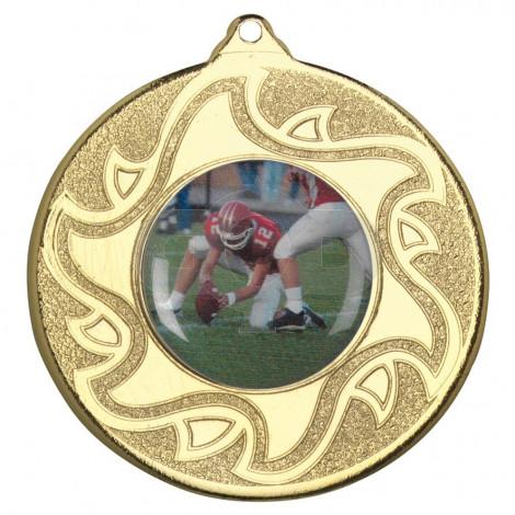50mm American Football Medal