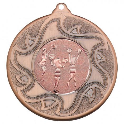 50mm Cheerleaders Bronze Medal