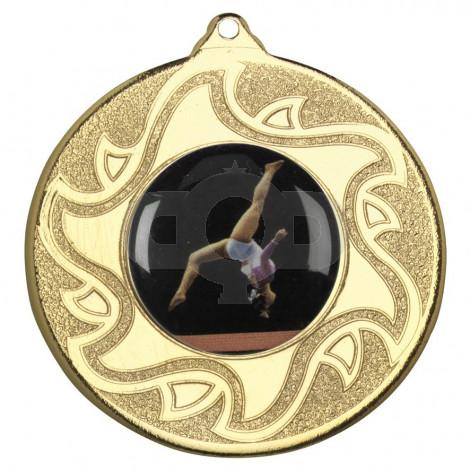 50mm Gymnastic Medal