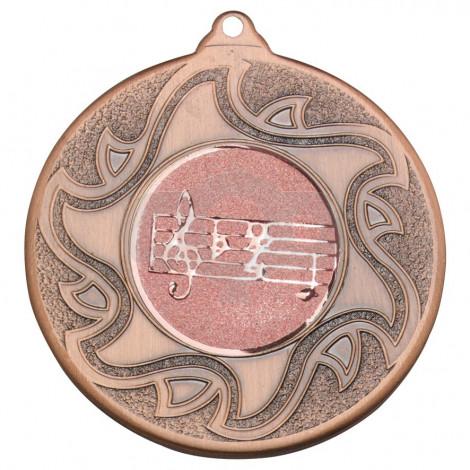 50mm Music Bronze Medal