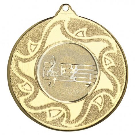 50mm Music Medal
