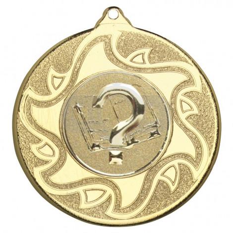 50mm Quiz Medal