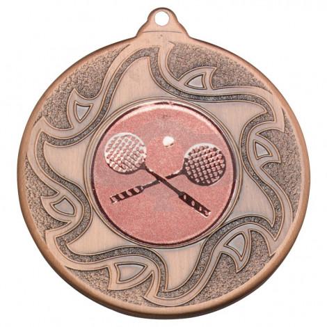 50mm Squash Bronze Medal