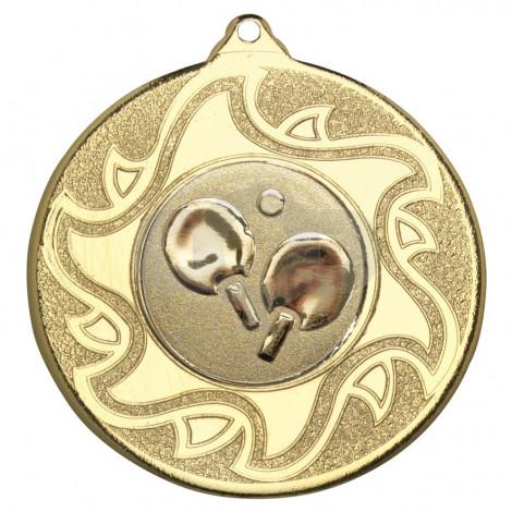 50mm Table Tennis Medal