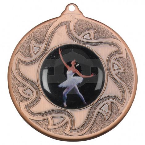 50mm Ballet Dancing Bronze Medal
