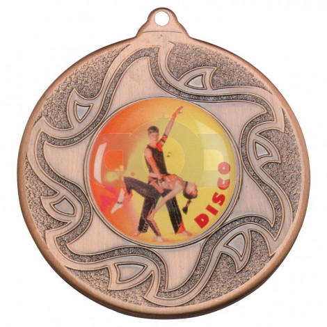 50mm Disco Dancing Bronze Medal