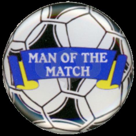 Man of the Match centre - Acrylic
