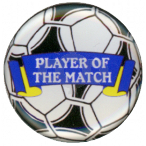 Player of the Match centre - Acrylic