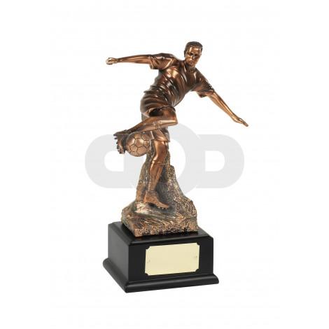 Magnificent Bronze Plated Football Award