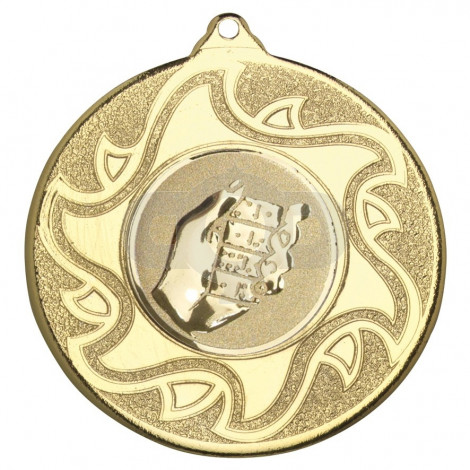 50mm Dominoes Medal