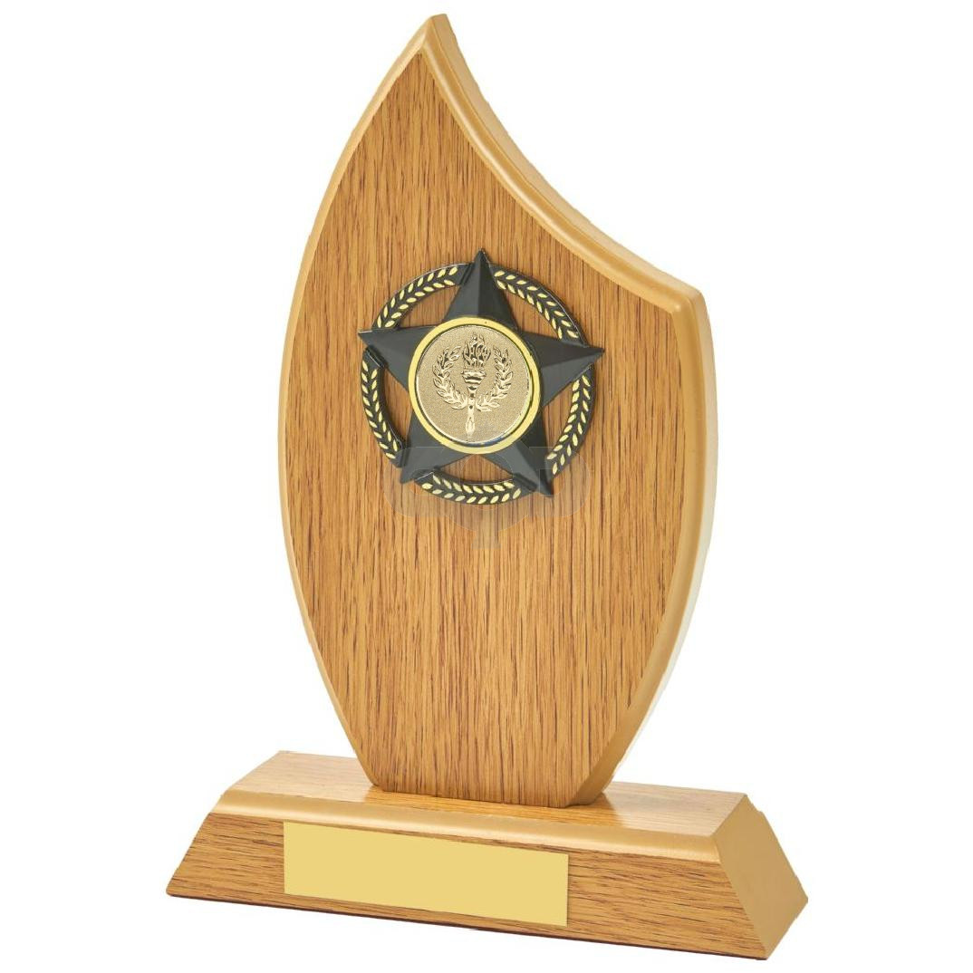 Light Oak Sail Wood Trim Award