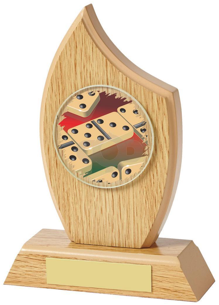Wood Sail Award for Dominoes