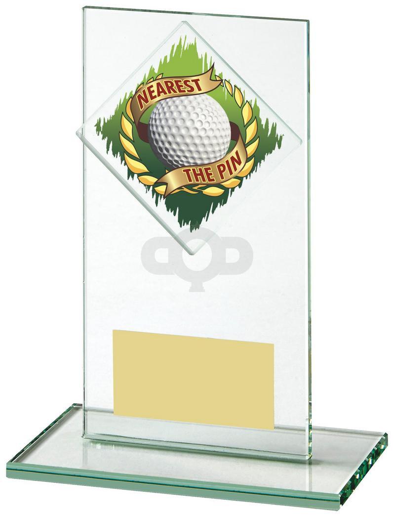 Jade Glass Nearest the Pin Golf Award