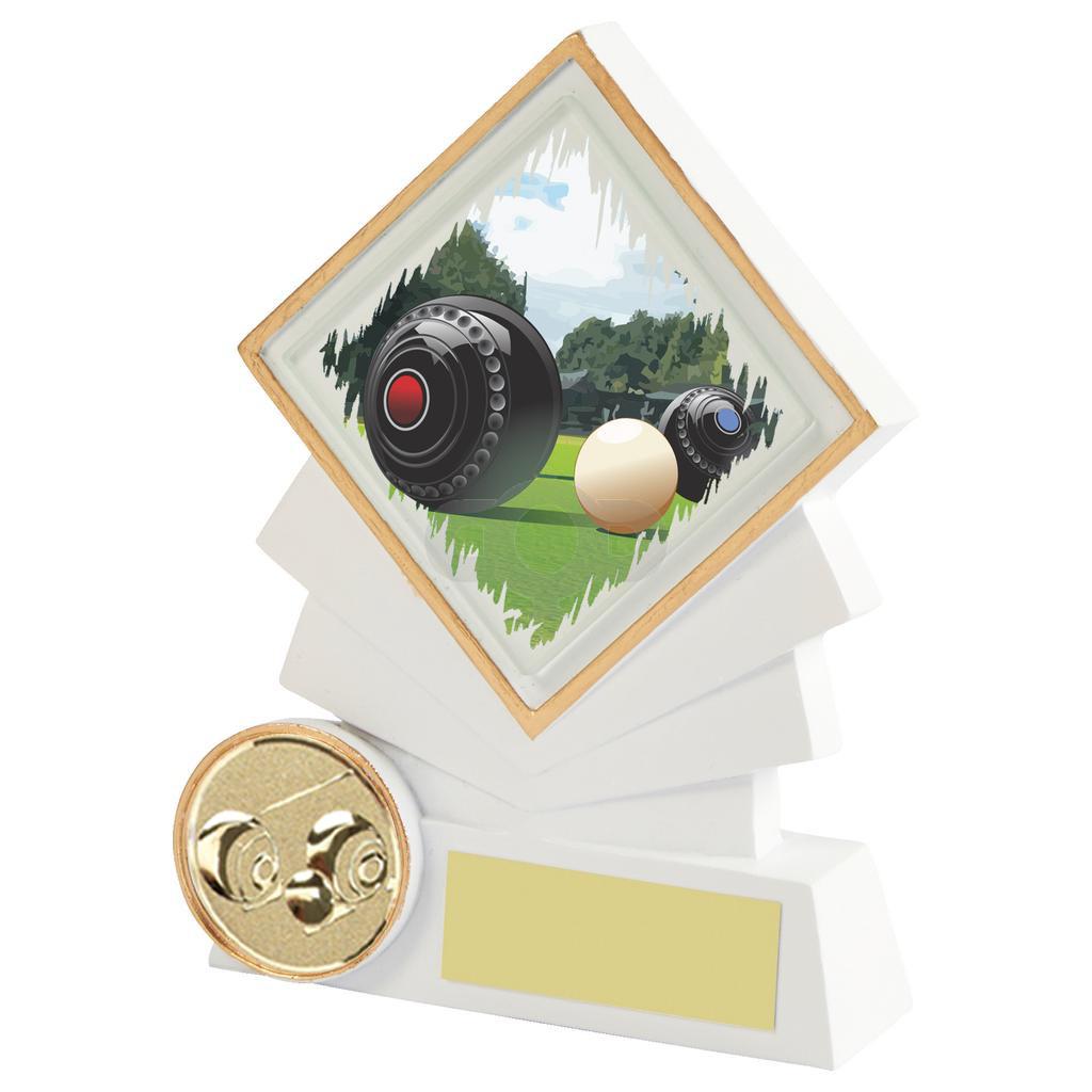 Resin Diamond Lawn Bowls Award