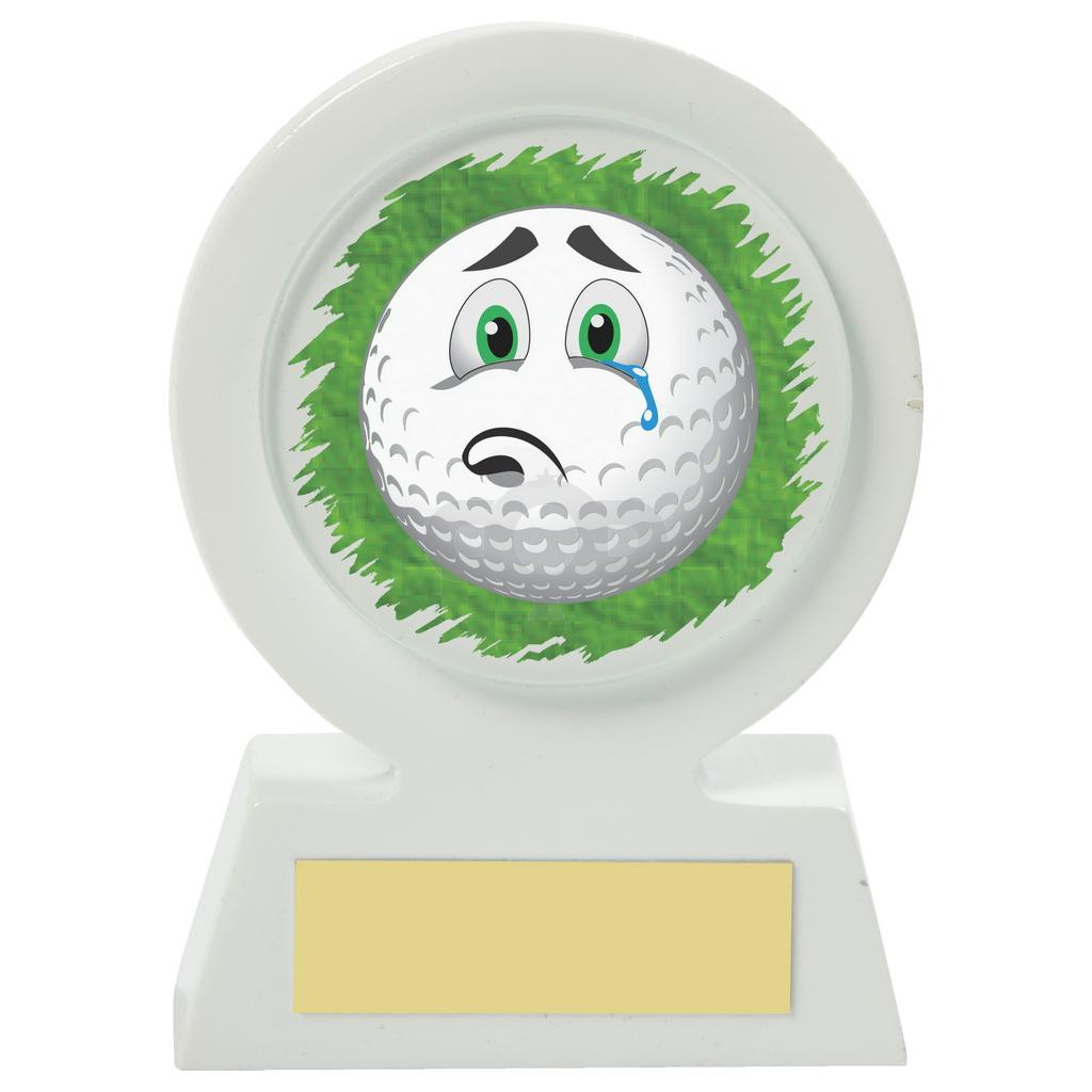 Resin Golf Collectable - Sad
