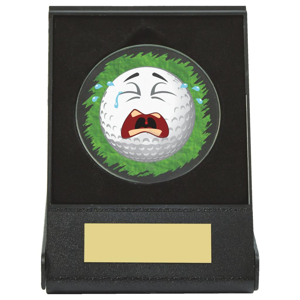 Black Case Golf Collectable - Crying