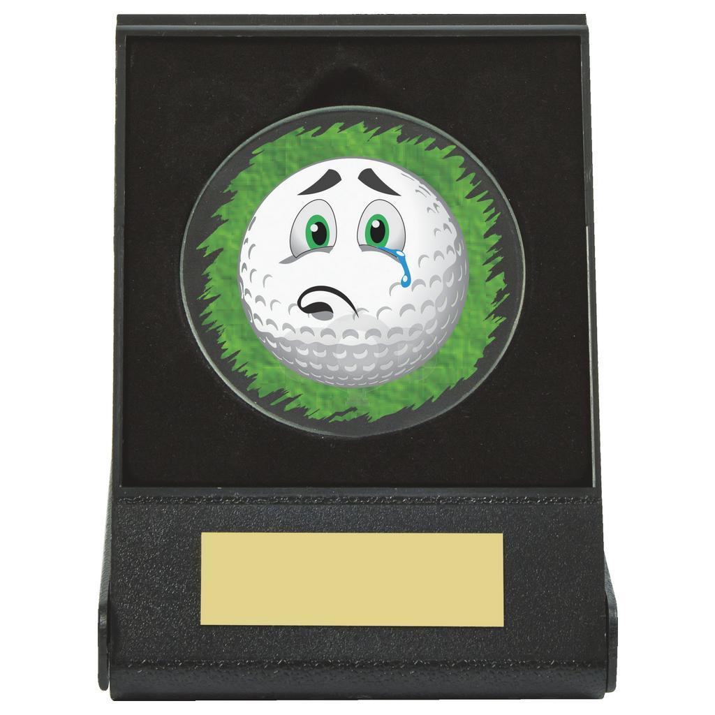 Black Case Golf Collectable - Sad