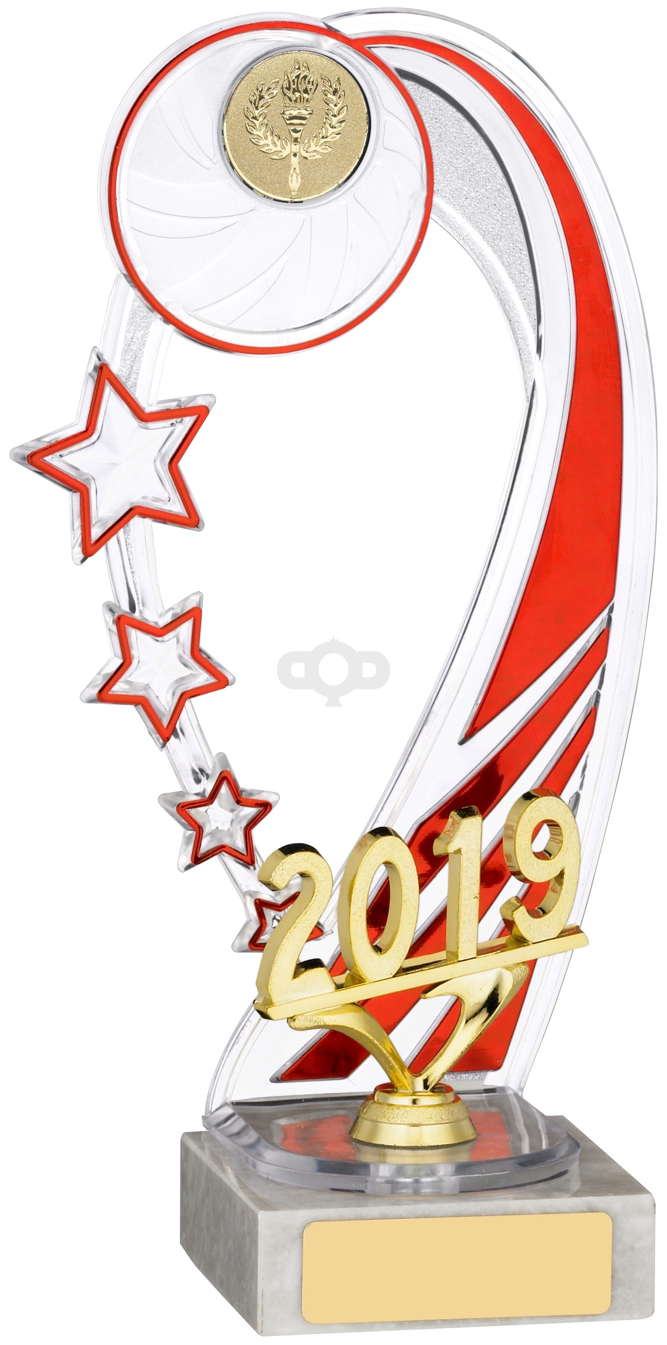2019 Red Backdrop Trophy