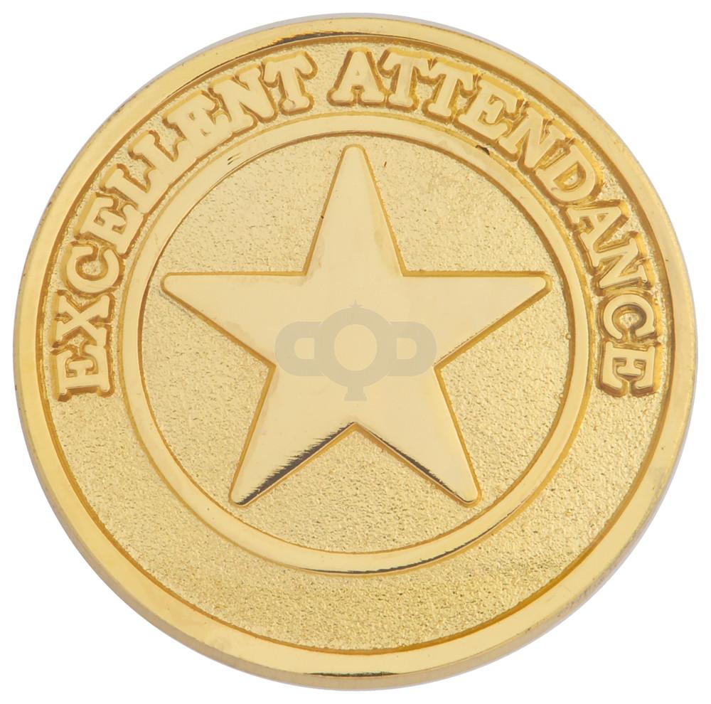 Attendance Round Badge