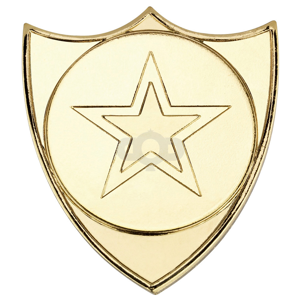 Shield Badge  - Gold