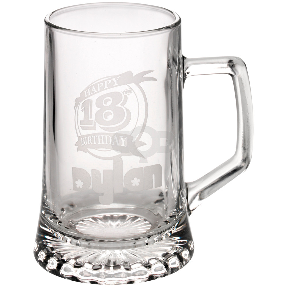 Crystal Tankard (Pint)