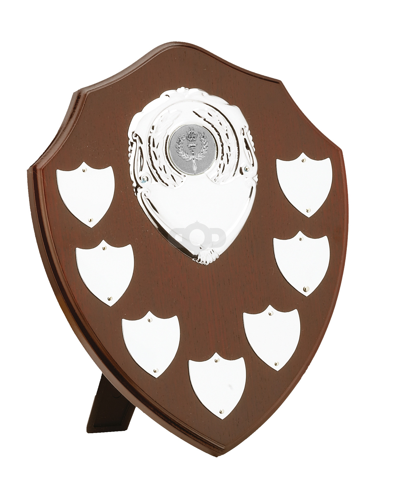 Mahogany Finish 7 Year Presentation Shield