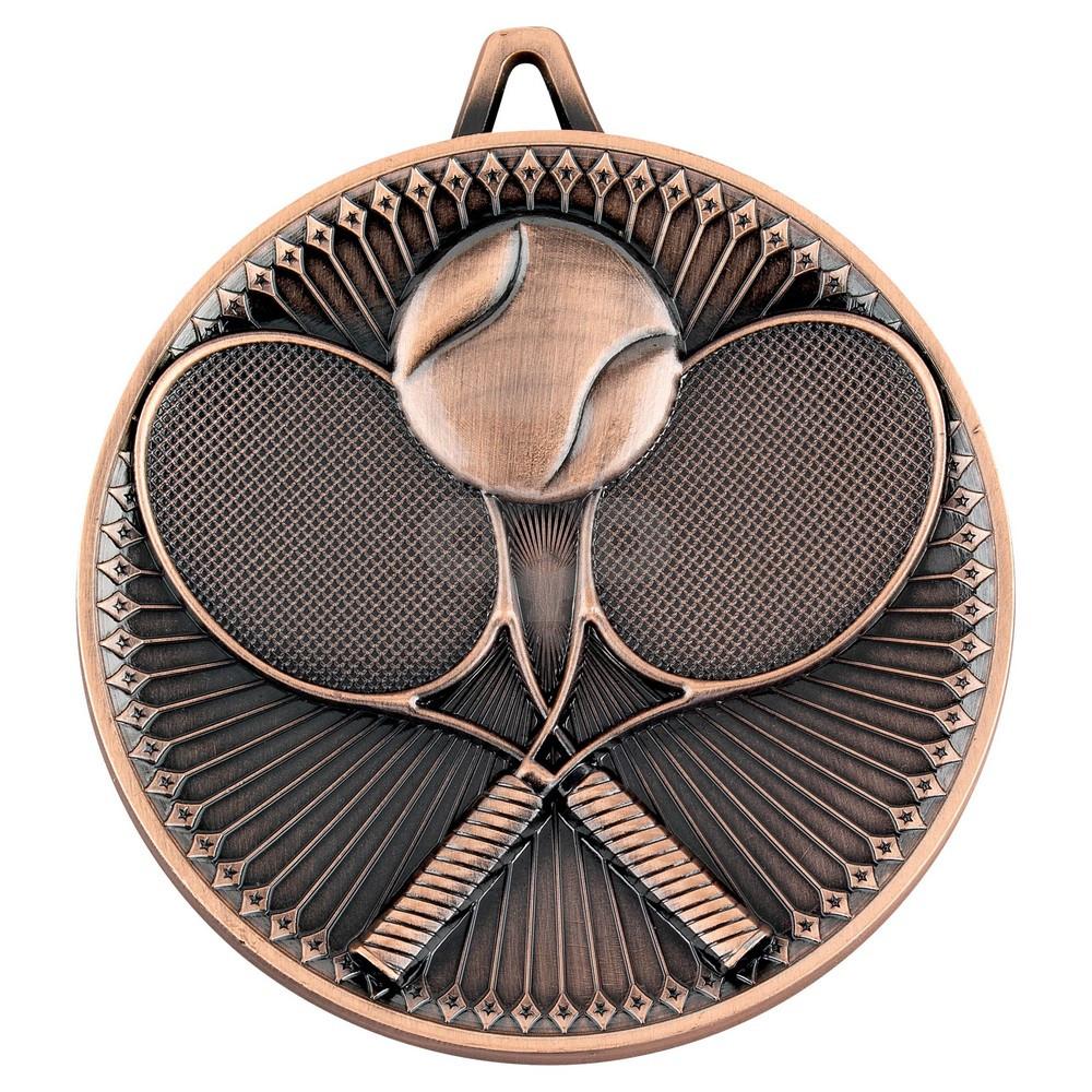 Tennis Deluxe Medal - Bronze