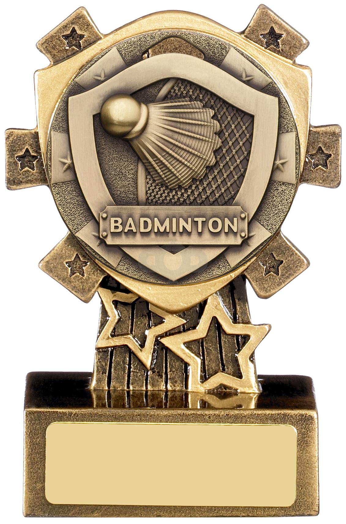 Mini Shield Badminton Award