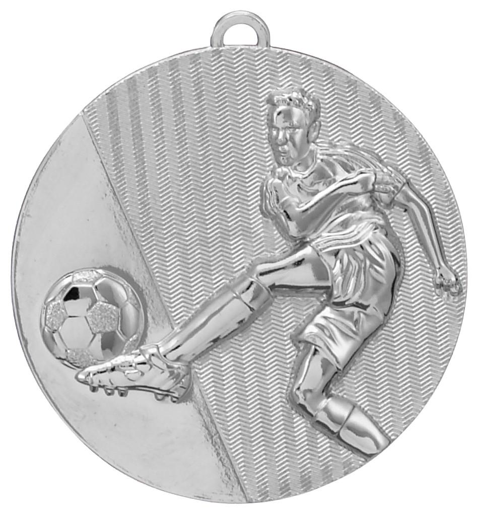 Silver Football Medal