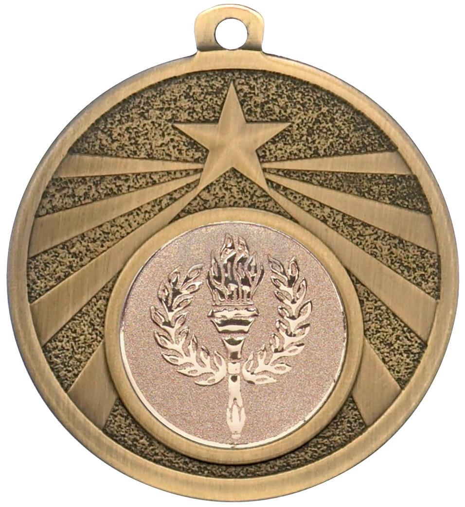 Bronze Star Burst Medal