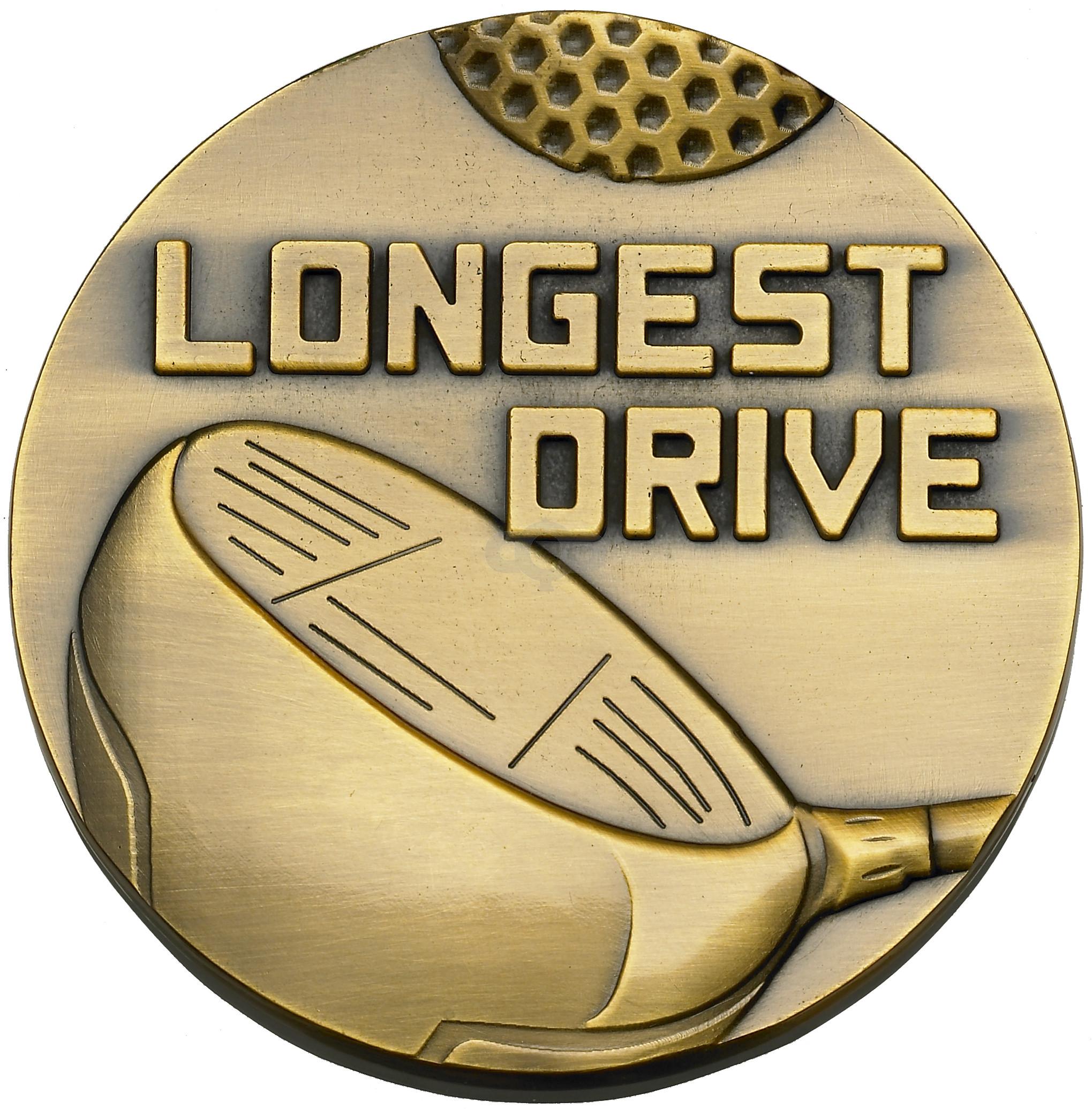 Longest Drive Medal