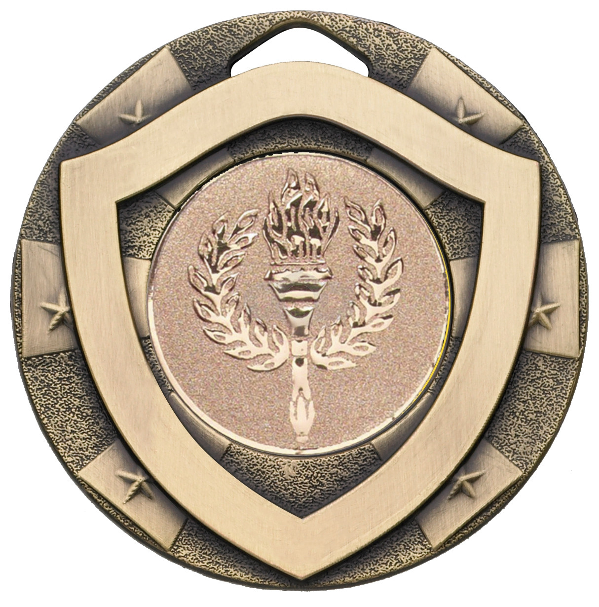 Bronze Mini Shield Medal