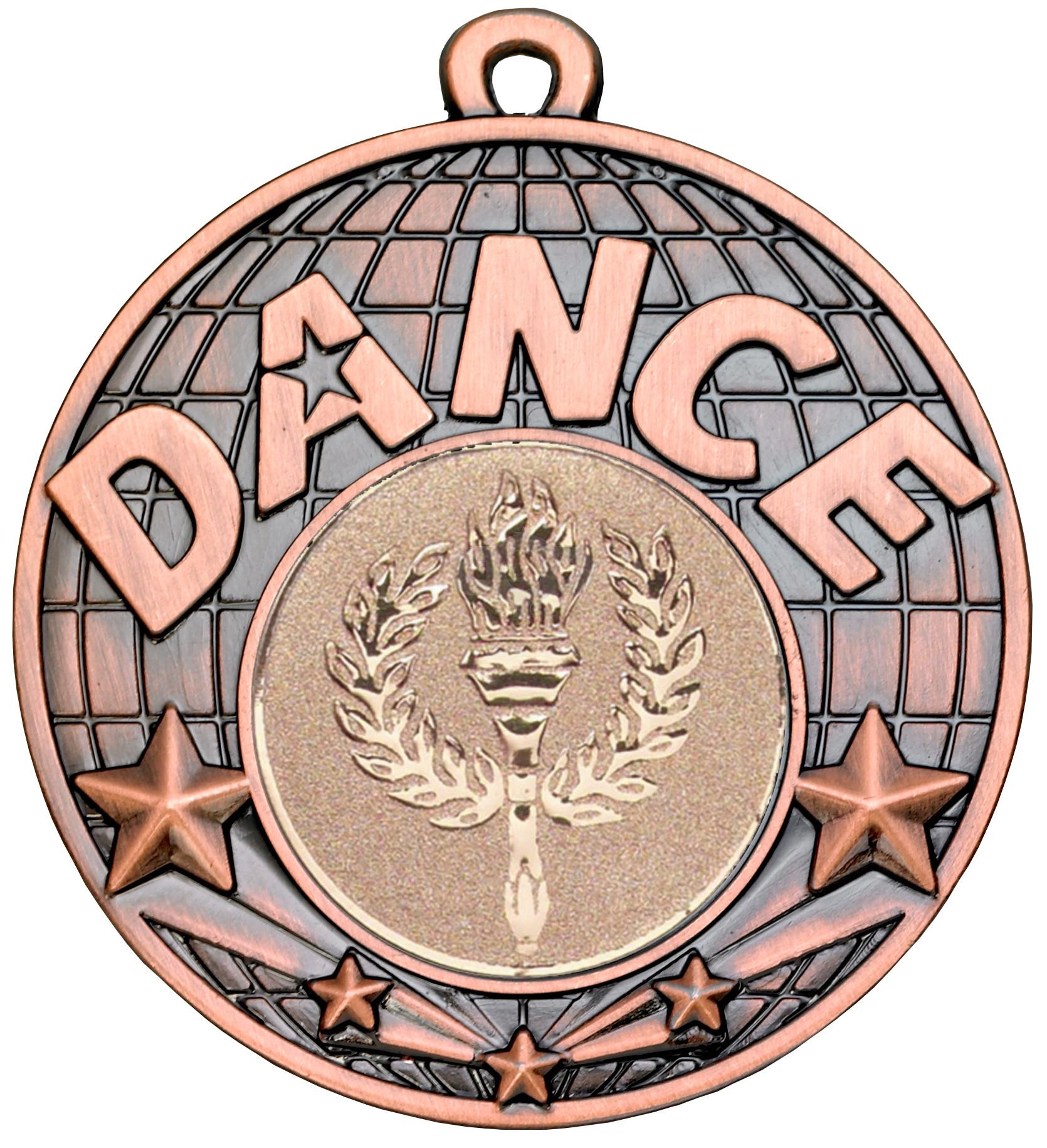 Bronze Dance Medal