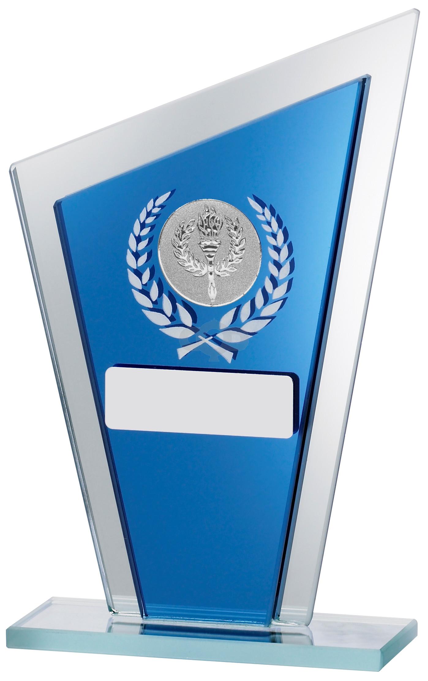 Blue Mirror Glass Award