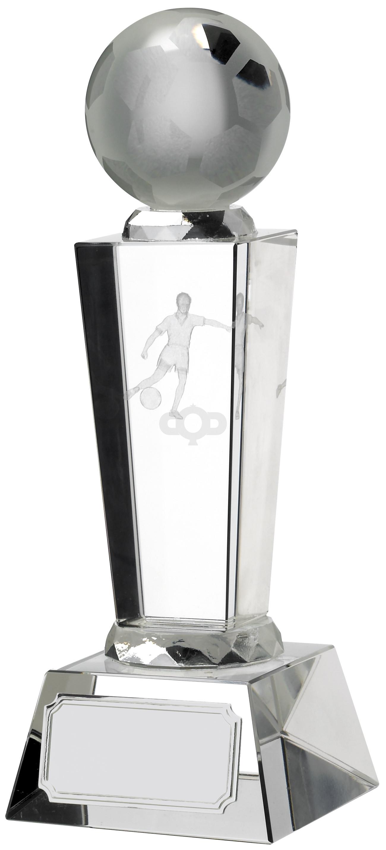 Victory Football Glass Pillar Award