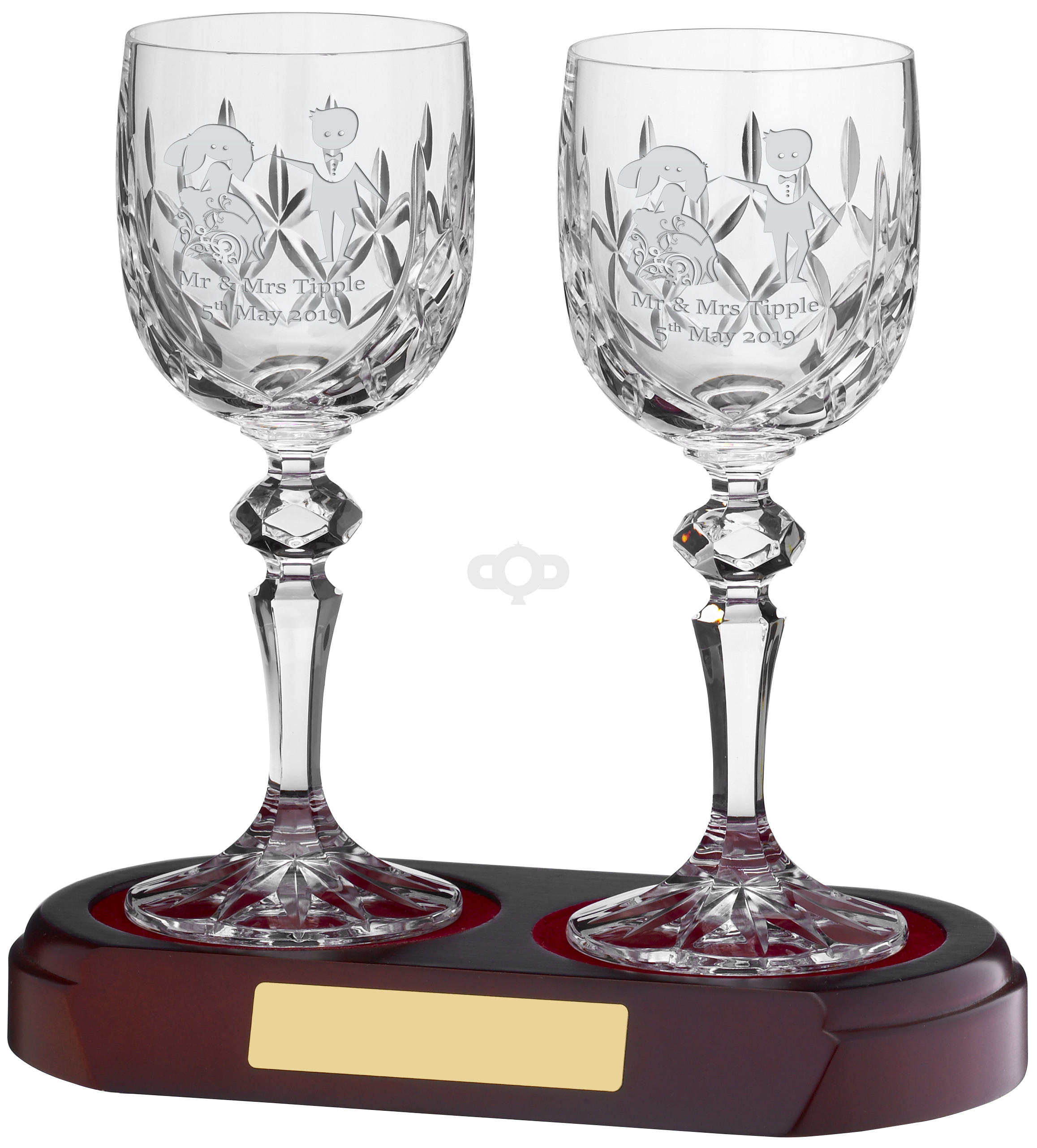Wine Glass Panelled