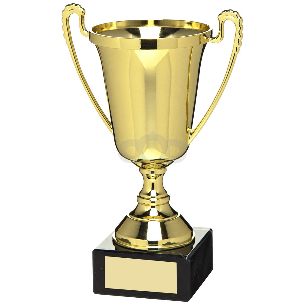 Gold Plastic Cup Trophy