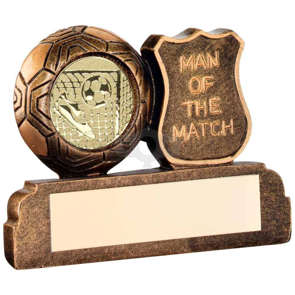 Resin Football 'Man Of The Match' Trophy