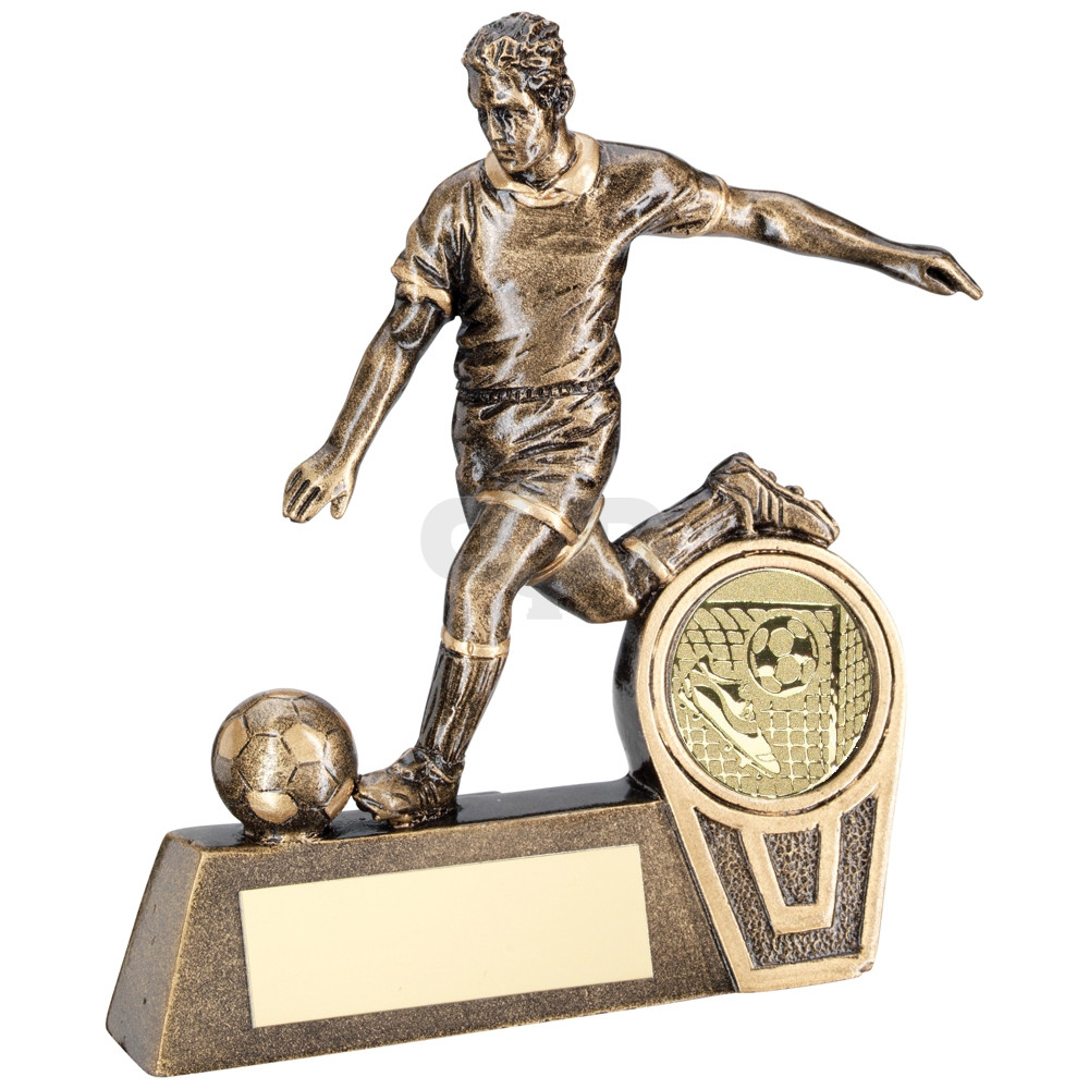 Mini Male Football Figure Trophy