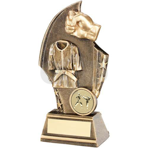 Martial Arts Curved Plaque Trophy