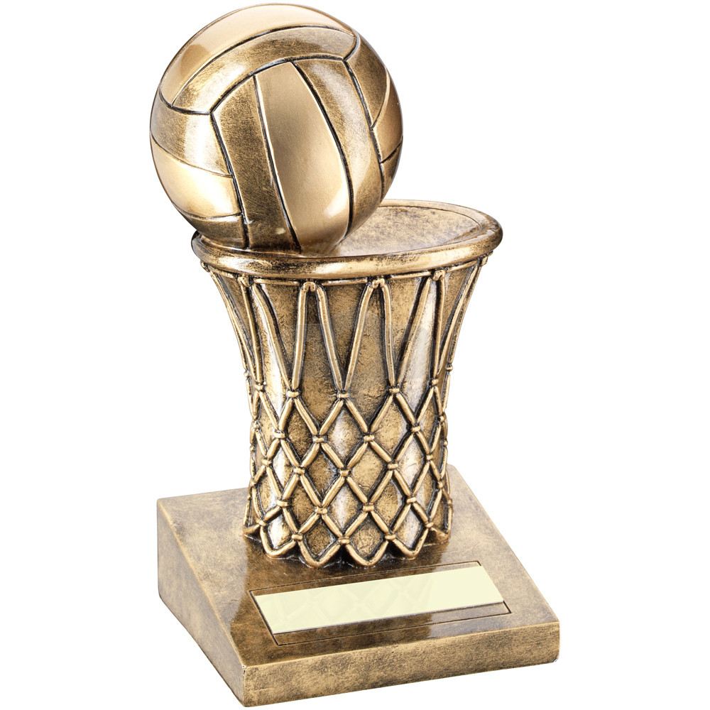 Netball And Net Trophy