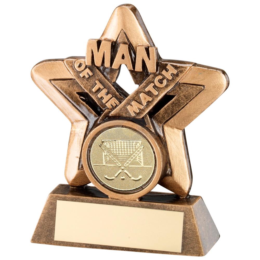 Man Of The Match Mini Star Trophy