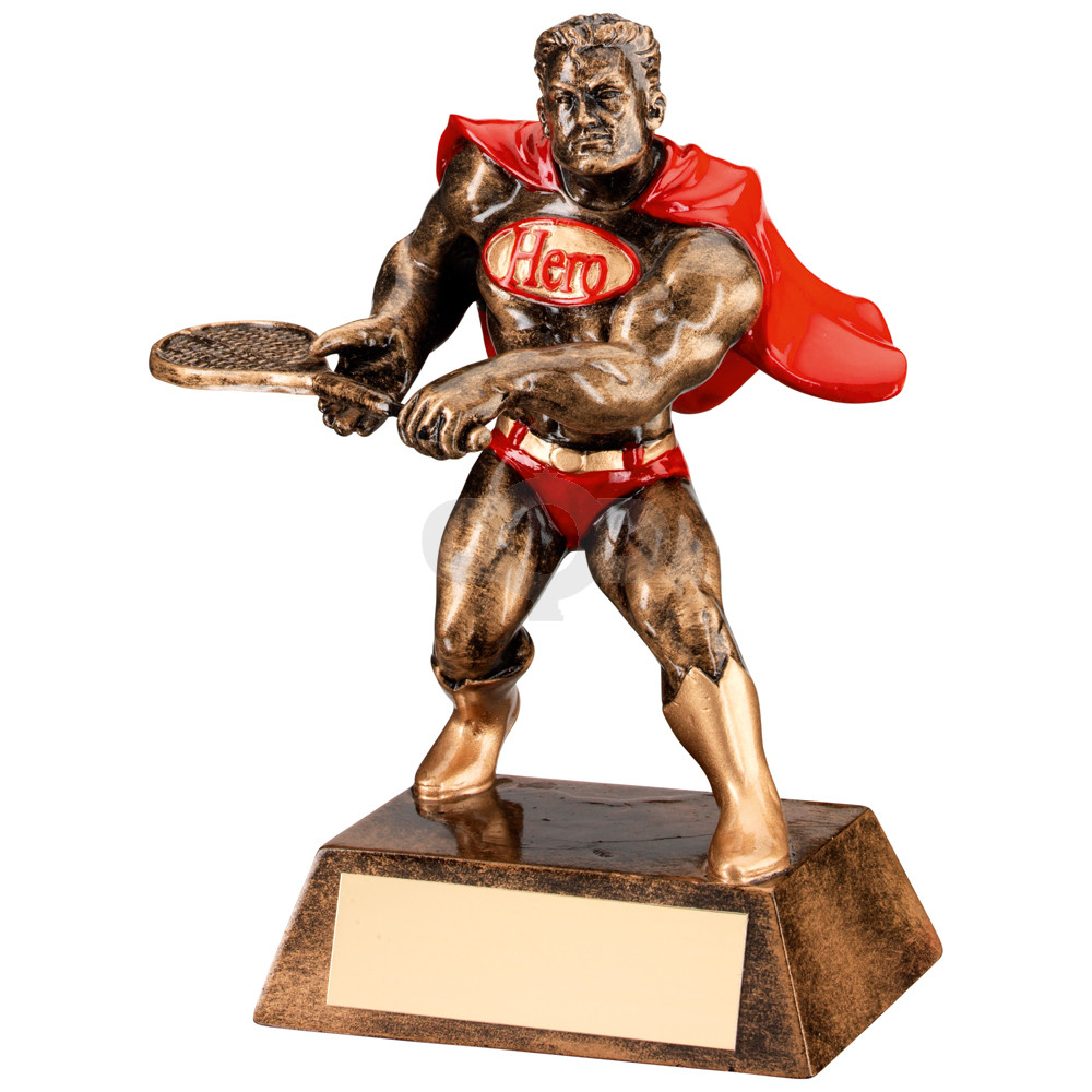Resin Tennis 'Hero' Trophy