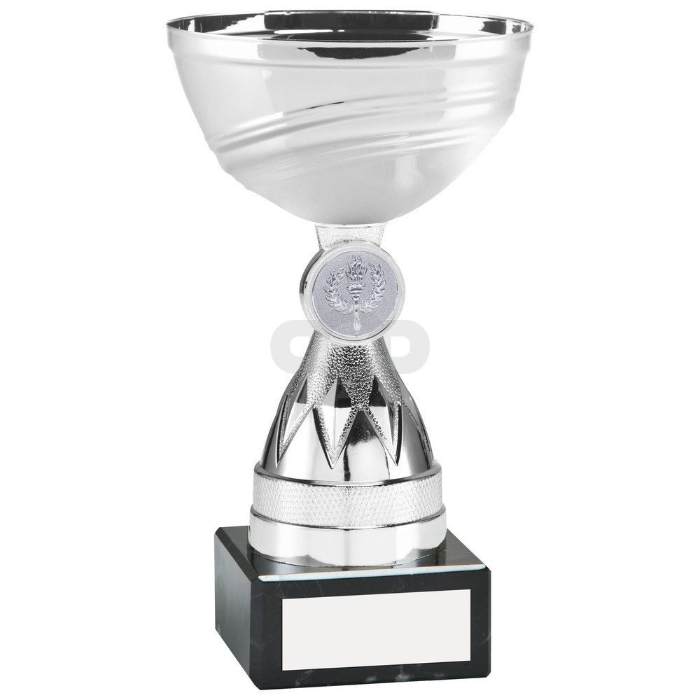 Silver Mini Diamond Stem Trophy