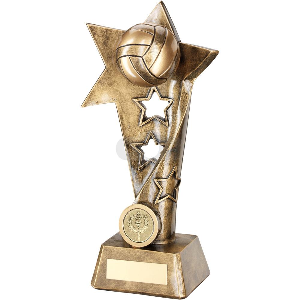 Gaelic Football Twisted Star Column Trophy