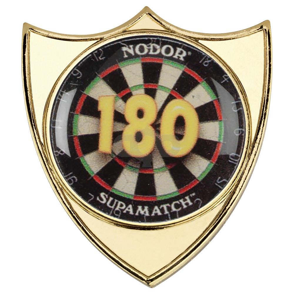 Darts '180' Metal Badge