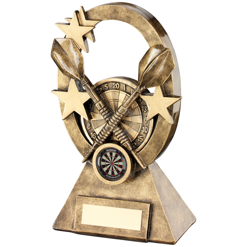 Darts Oval Stars Series Trophy