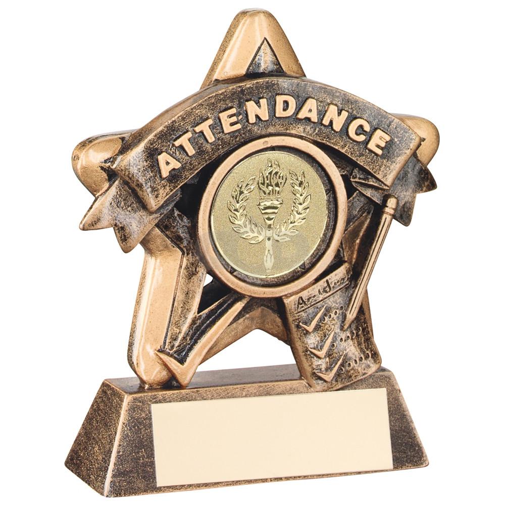 Mini Star 'Attendance' Trophy